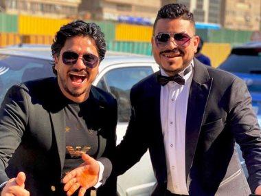 مصطفى حجاج وشقيقه