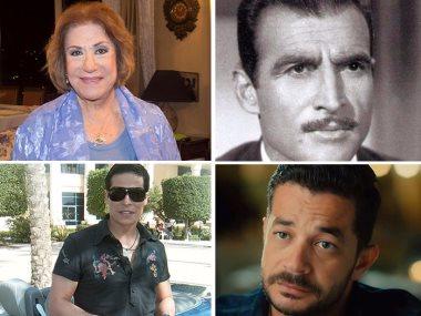 أحمد مظهر وشريف سلامة وسميحة أيوب وعامر منيب