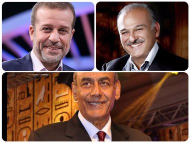 احمد بدير وشريف منير وجمال سليمان