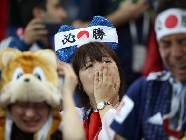 مشجعو اليابان