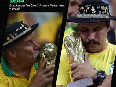 مشجع برازيلى