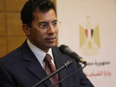 اشرف صبحى وزير الرياضة