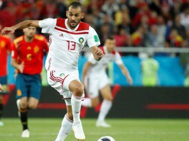 المغربى بو طيب لاعب الزمالك