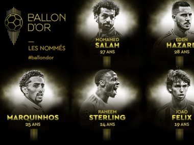 صلاح ضمن المرشحين لجائزة الكرة الذهبية