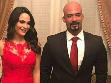 هيثم أحمد زكى وخطيبته