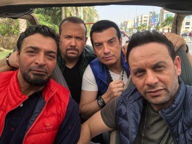 مصطفى قمر وحميد الشاعرى وإيهاب توفيق وهشام عباس