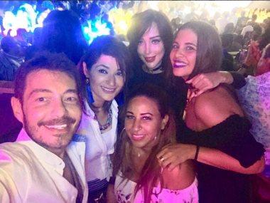 أحمد زاهر من حفل تامر حسني