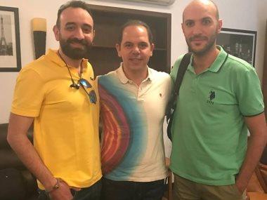 عمرو سلامة ورامي إمام ومحمد دياب