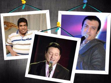 أحمد عدوية وإيهاب توفيق ومحمد الحلو