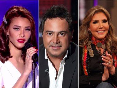 عاصى الحلانى ونادية مصطفى وأميمة طالب