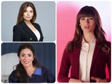 أسماء مصطفى ولما جبريل ونانسى نور