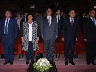جانب من افتتاح الدورة الـ20 لمهرجان الإسماعيلية الدولى للأفلام القصيرة