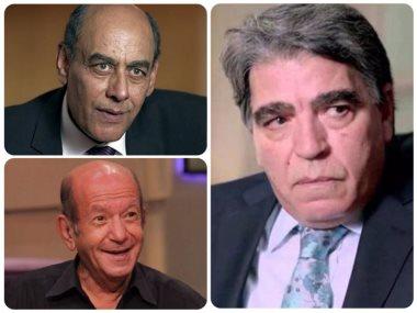 احمد بدير ومحمود الجندي و لطفي لبيب
