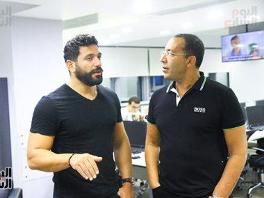 خالد صلاح وحسن الرداد