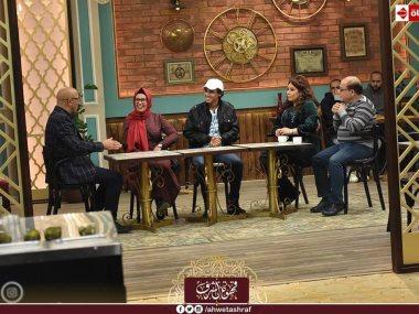 حسن عبد الفتاح مع أشرف عبد الباقى