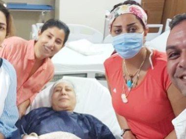 آيتن و وفاء عامر و والدتهما