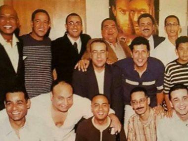 أحمد السقا و كريم عبد العزيز و أشرف عبد الباقى
