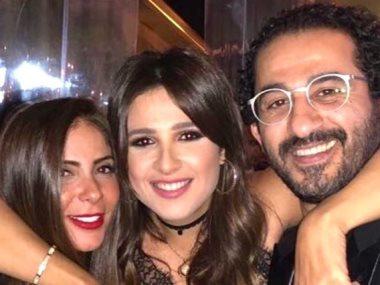 أحمد حلمى و ياسمين عبد العزيز و منى زكى