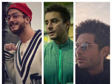 سعد لمجرد و أحمد الفيشاوى و عمرو صالح