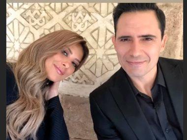 ظافر العابدين و ريم مصطفى