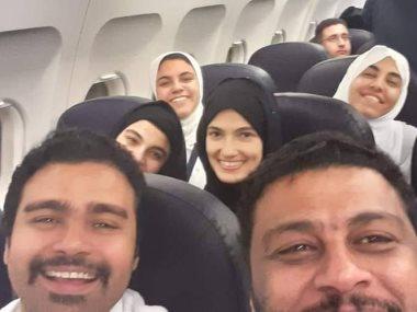 تارا عماد و محمد جمعة و إسلام إبراهيم