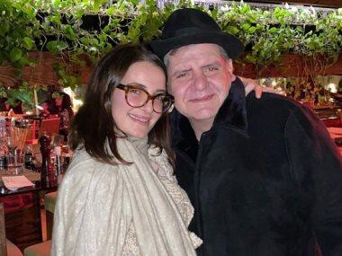 شام الذهبى و والدها