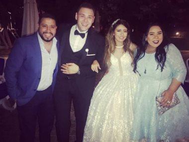 شيماء من حفل الزفاف