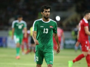 بشار الأسد لاعب العراق