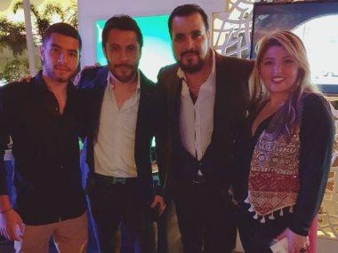 مها أحمد ومجدى كامل وأحمد حسن
