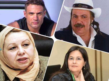 طلعت زكريا ومحمد نور وهويدا مصطفى وماجى الحلوانى