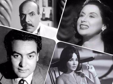 زبيدة ثروت وليلى مراد وأم كلثوم ومحمد فوزى