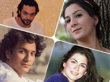 إيما شاه وعبد الرحمن محمد ومحمد محسن و هبة القواس