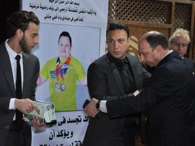 مازن السماحى ووفاء عامر فى مسلسل السر