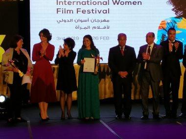 جانب من ختام مهرجان أسوان الدولى لأفلام المرأة