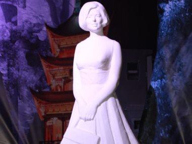 تمثال سعاد حسنى