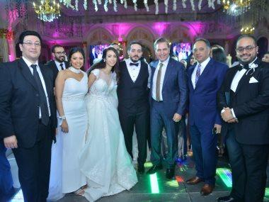 جانب من حفل زفاف شقيق سهر الصايغ