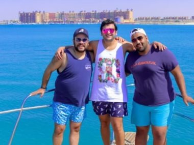 مصطفى خاطر و محمد عبد الرحمن فى الساحل