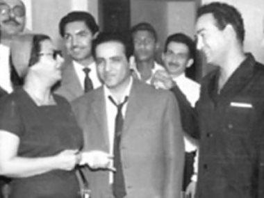 محمد فوزى وبليغ حمدى وأم كلثوم
