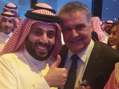 محسن جابر و تركى آل الشيخ