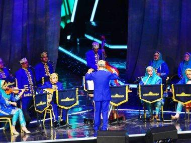 الفرقة السلطانية الأولى للموسيقى والفنون الشعبية من دولة عمان