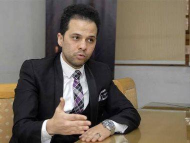 المخرج مازن الغرباوى رئيس مهرجان شرم الشيخ الدولى للمسرح الشبابى
