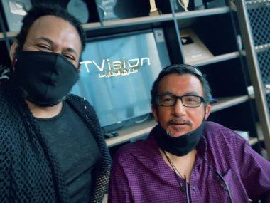 المخرج خالد مرعى و السيناريست محمد أمين راضى