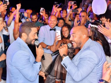 محمود العسيلى و تامر حسنى