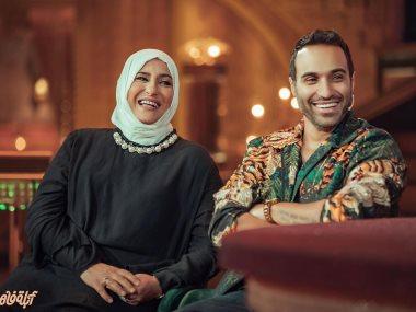 أحمد فهمى ووالدته