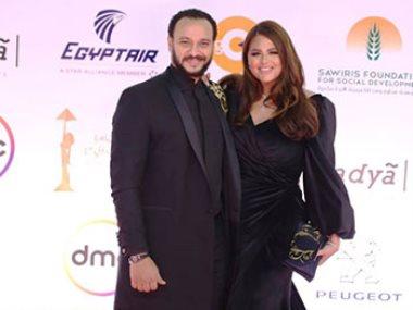 أحمد خالد صالح وهنادى مهنا