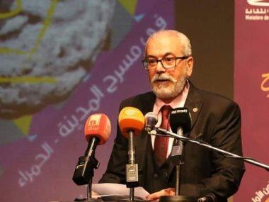 غنام غنام مسؤول النشر والاعلام بالهيئة العربية للمسرح