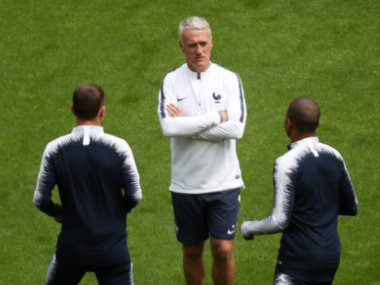 لاعبو فرنسا
