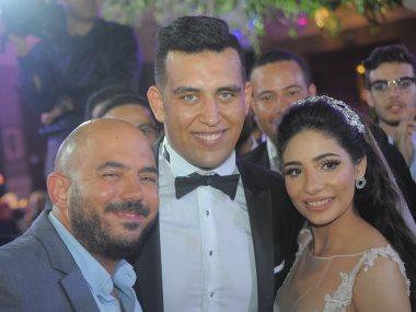العسيلى مع العروسين