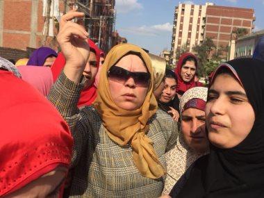 شيماء دومة تدعو لمسيرة نسائية ببسيون