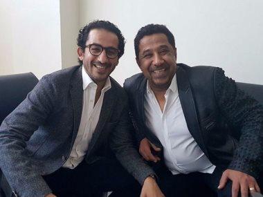 أحمد حلمى والشاب خالد
